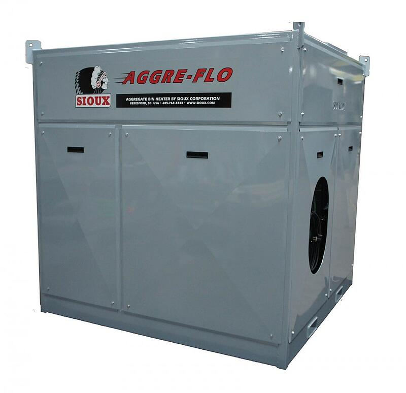 Sioux Aggre-Flo Aggregate Bin Heater
