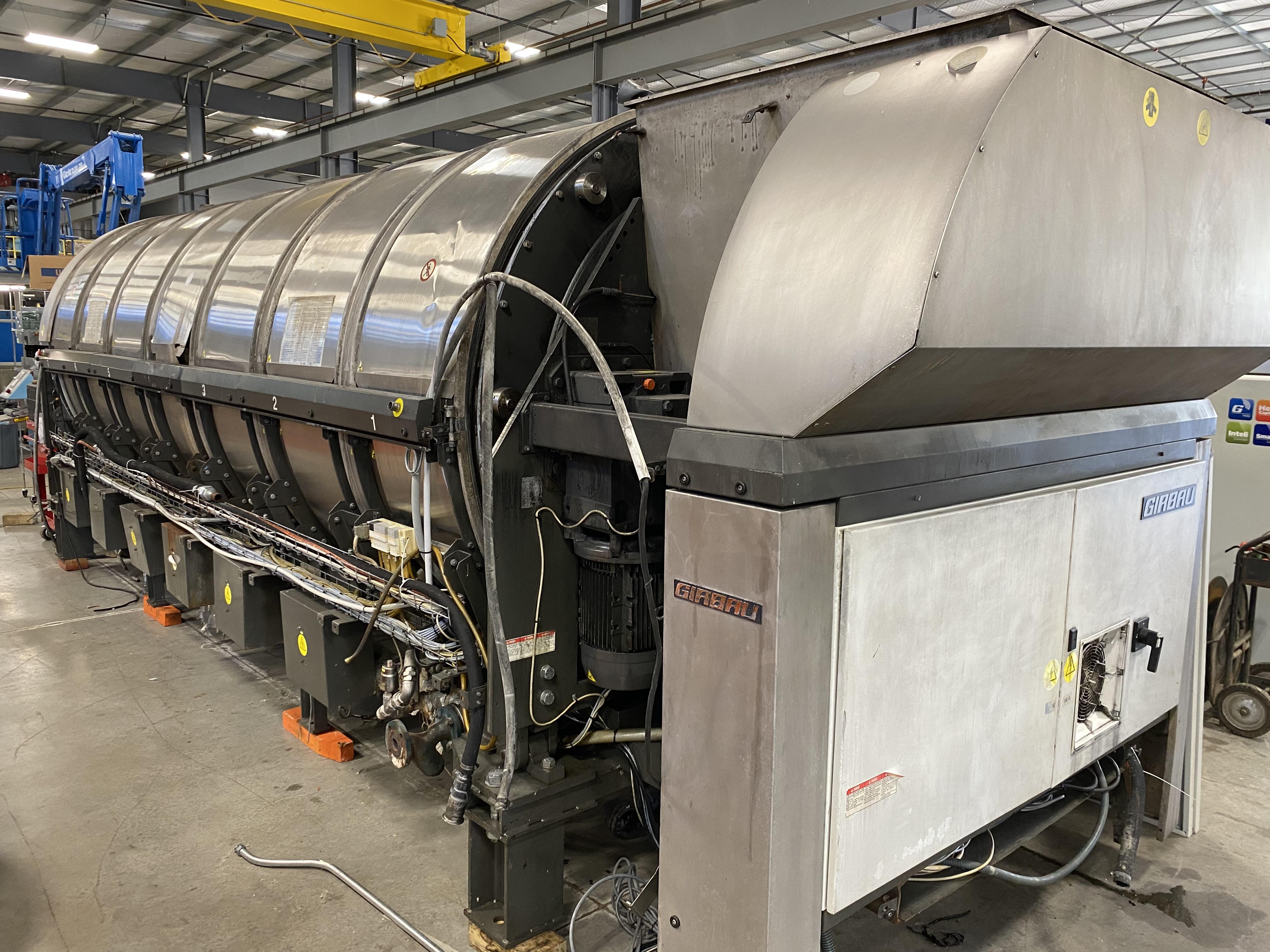 Continental Girbau 7-mod tunnel washer